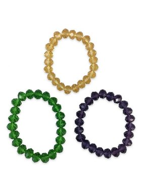Mardi Gras Stackable Bracelets