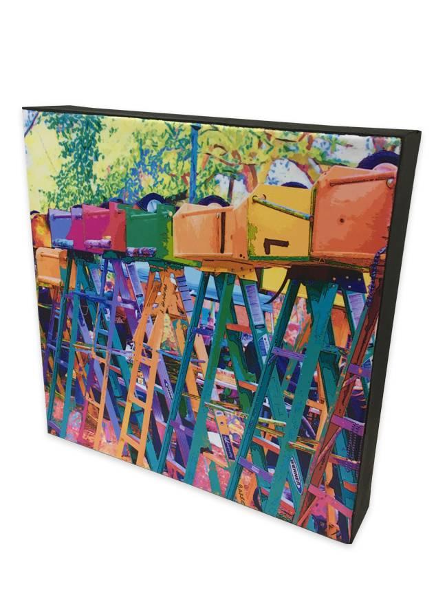 Nola Scenes Wall Art, 8x8