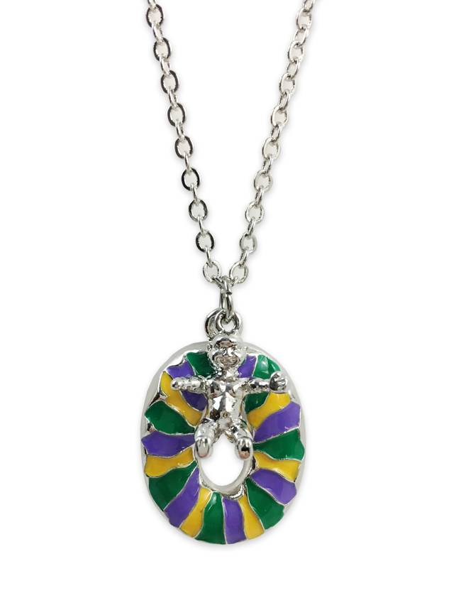 King Cake Necklace