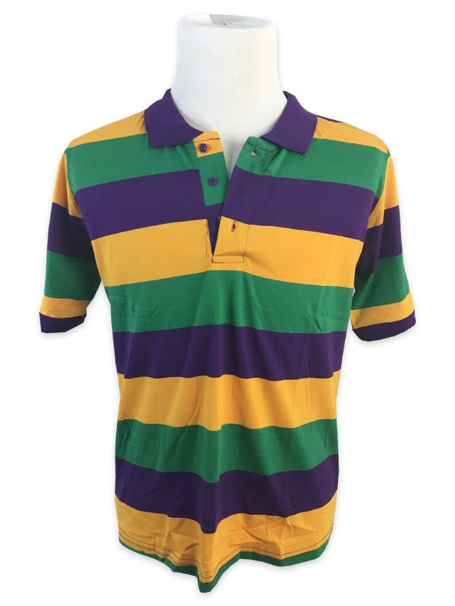 Mardi Gras Polo Shirt