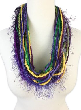 Carnival Collar Scarf Necklace