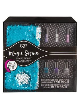 Magic Sequin Beauty Gift Set, Blue
