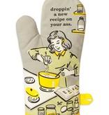 Droppin' A Recipe Oven Mitt