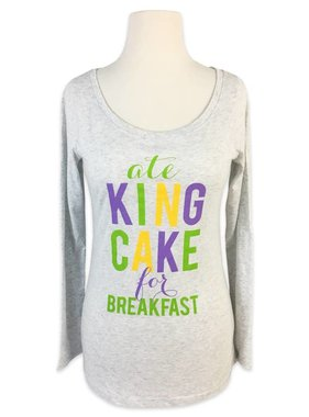 Ate King Cake For Breakfast Tee
