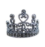 Crown Ring, Sterling Silver and Marcasite