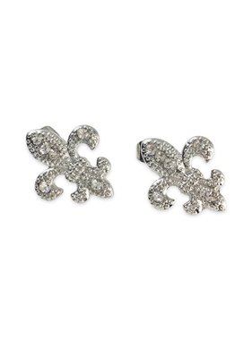 Fleur de Lis Sparkle Earrings