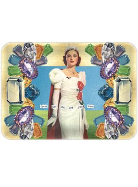 Anne Taintor Dress For The Job You Want Mini Tray