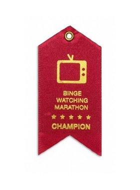 Binge Watching Marathon Award Magnet