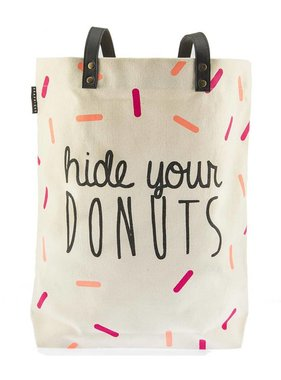 Hide Your Donuts Tote Bag