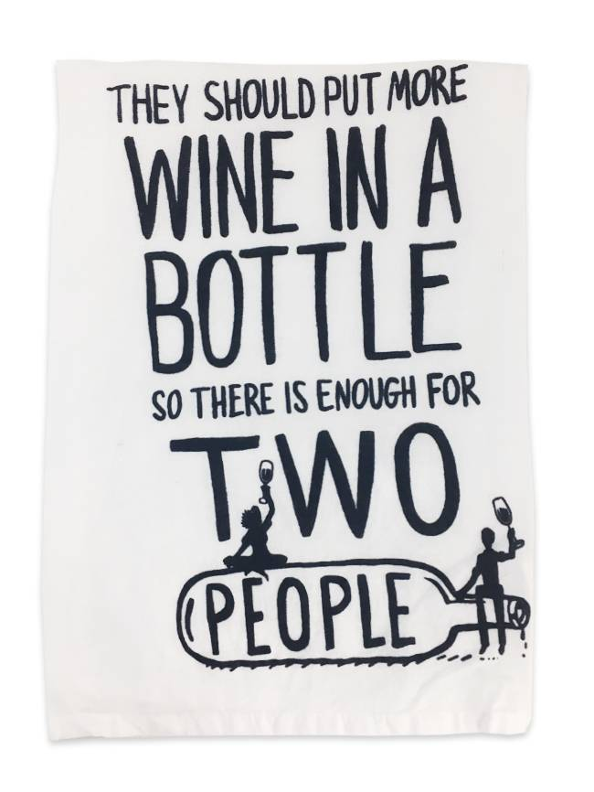 Primitives by Kathy More Wine Towel