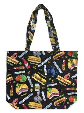 New Orleans Food Tote Bag
