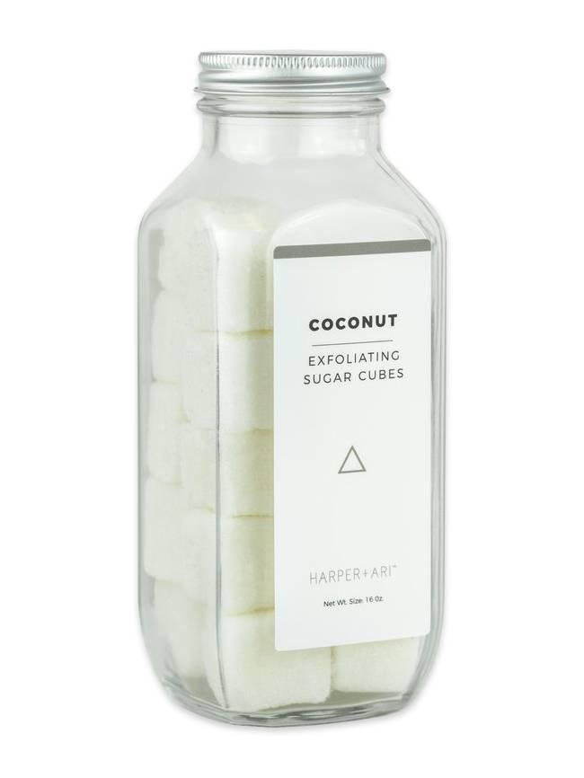 Exfoliating Sugar Cubes, Coconut
