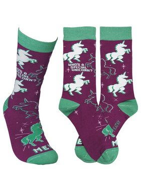 Who's A Special Unicorn? Socks