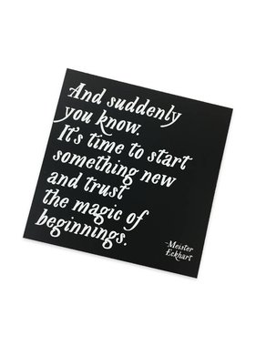 Magic of Beginnings Magnet
