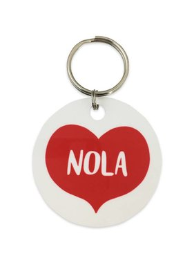 Big Heart NOLA Key Ring
