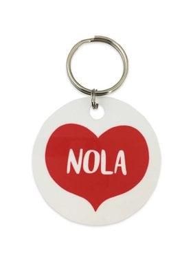 Big Heart NOLA Key Ring