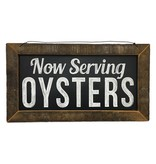 Now Serving Oysters Wall Art