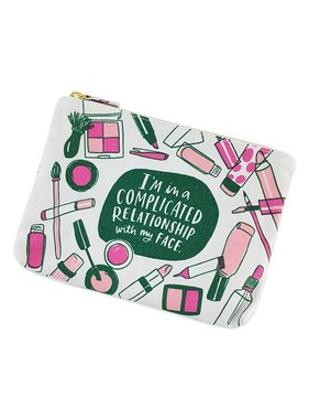 Complicated Relationship Cosmetic Bag