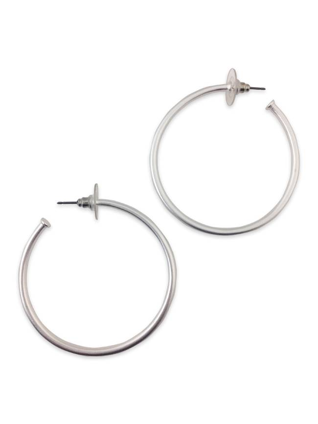 shop sterling jewellery is bits simple harmony silver accessories style hoop earrings