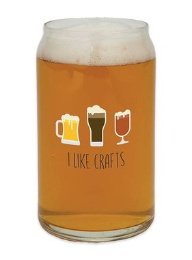I Like Crafts Beer Glass