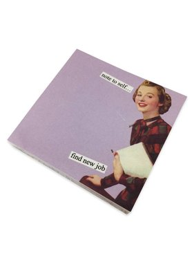 Anne Taintor New Job Sticky Notes
