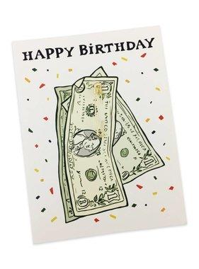 Pin a Dollar to Ya Birthday Card