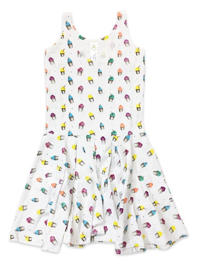 Snoball Summer Dress for Kids