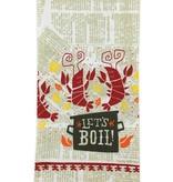 Let's Boil Crawfish Towel