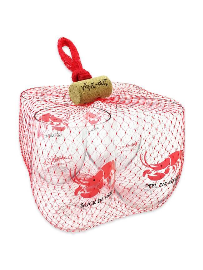 Crawfish Shatterproof Wine Goblet Set