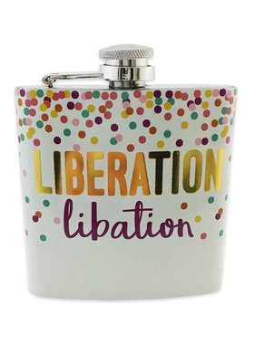 Liberation Libation Flask