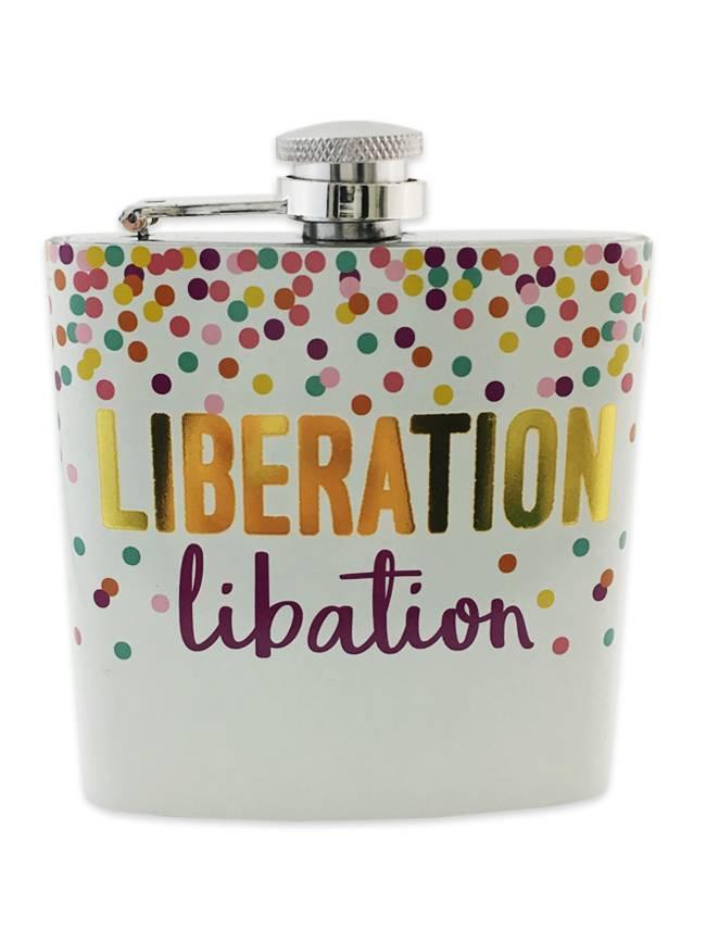 Liberation Libation Flask