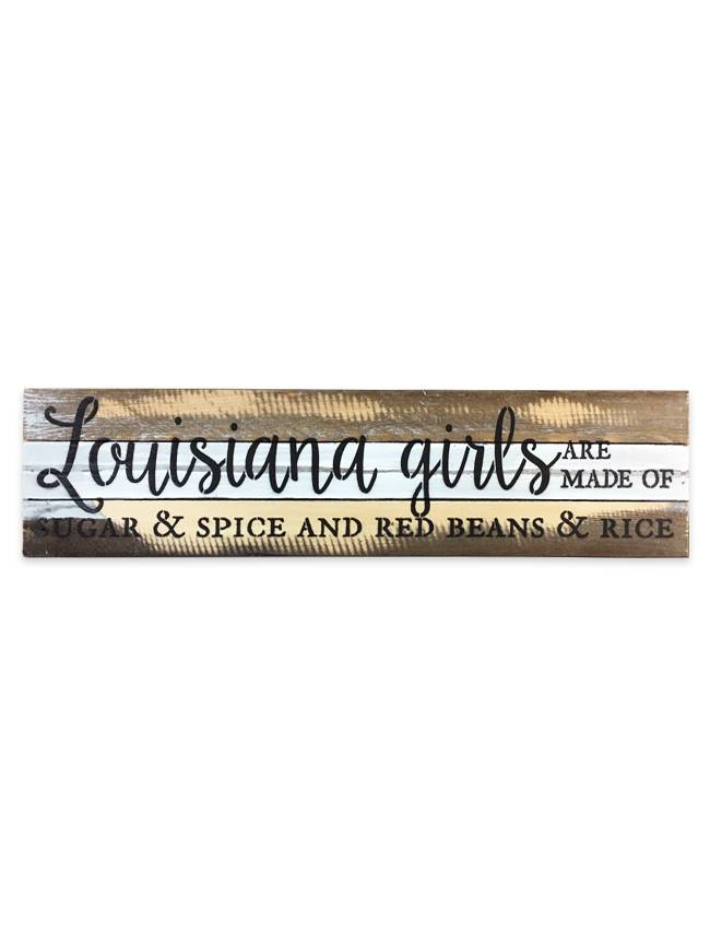 Louisiana Girls Wall Art