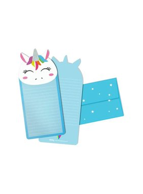 Unicorn Glitter Notecards