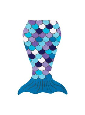 Mermaid Tail Beach Towel