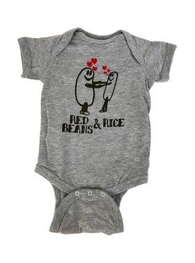 Red Beans & Rice Onesie