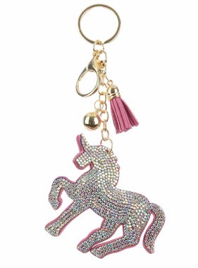 Sparkly Unicorn Key Chain
