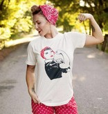 Fleurty Girl Rosie the Riveter Tee