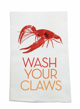 Wash Your Claws Towel