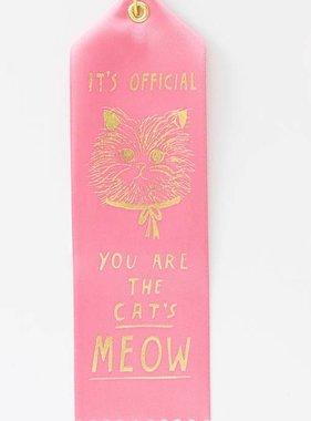 The Cat's Meow Award Ribbon