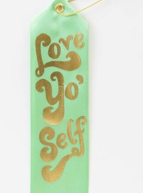 Love Yo' Self Award Ribbon
