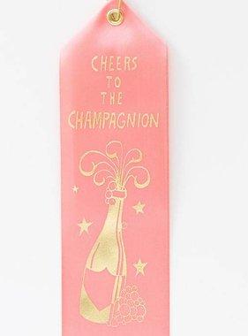 Champagnion Award Ribbon
