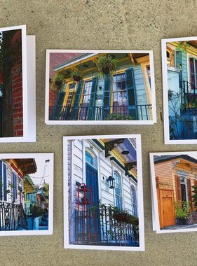 New Orleans Homes Notecard Set