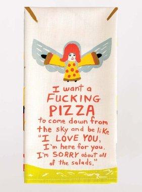 Blue Q Fucking Pizza Towel