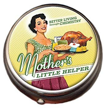 Mother's Little Helper Pill Box