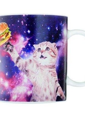 Cat in Space Coffee Mug