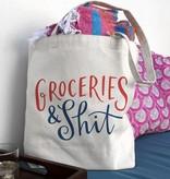 Groceries & Shit Tote Bag
