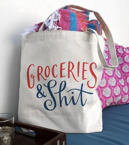 Groceries Tote Bag
