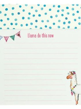 Llama Do This Now Notepad