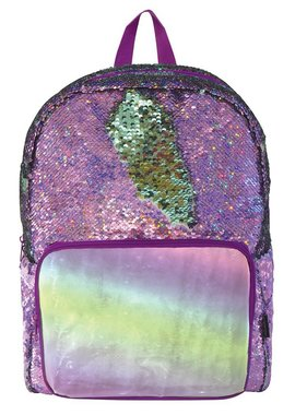 Purple Seafoam Magic Sequin Backpack