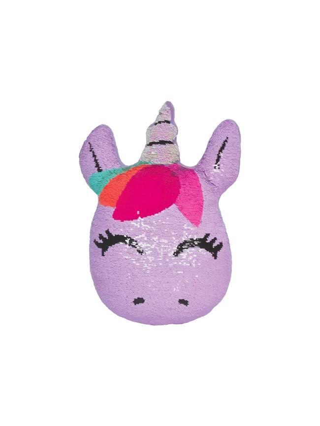 Mini Unicorn Reversible Sequin Pillow